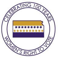 Celebrating 100 Years Women's Right to Vote logo